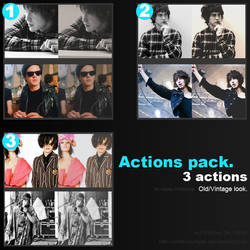 Action Pack - Old and waste