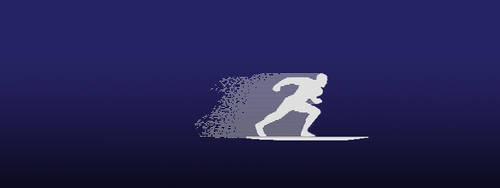 Silver Surfer Animated Pixel Art by kcsnipes