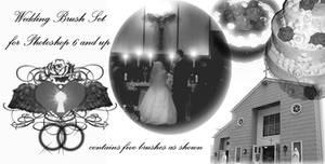 Wedding Photoshop Brush Set