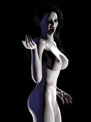 Countess Drusilla (Animated GIF, 360 spin) by rendercomics