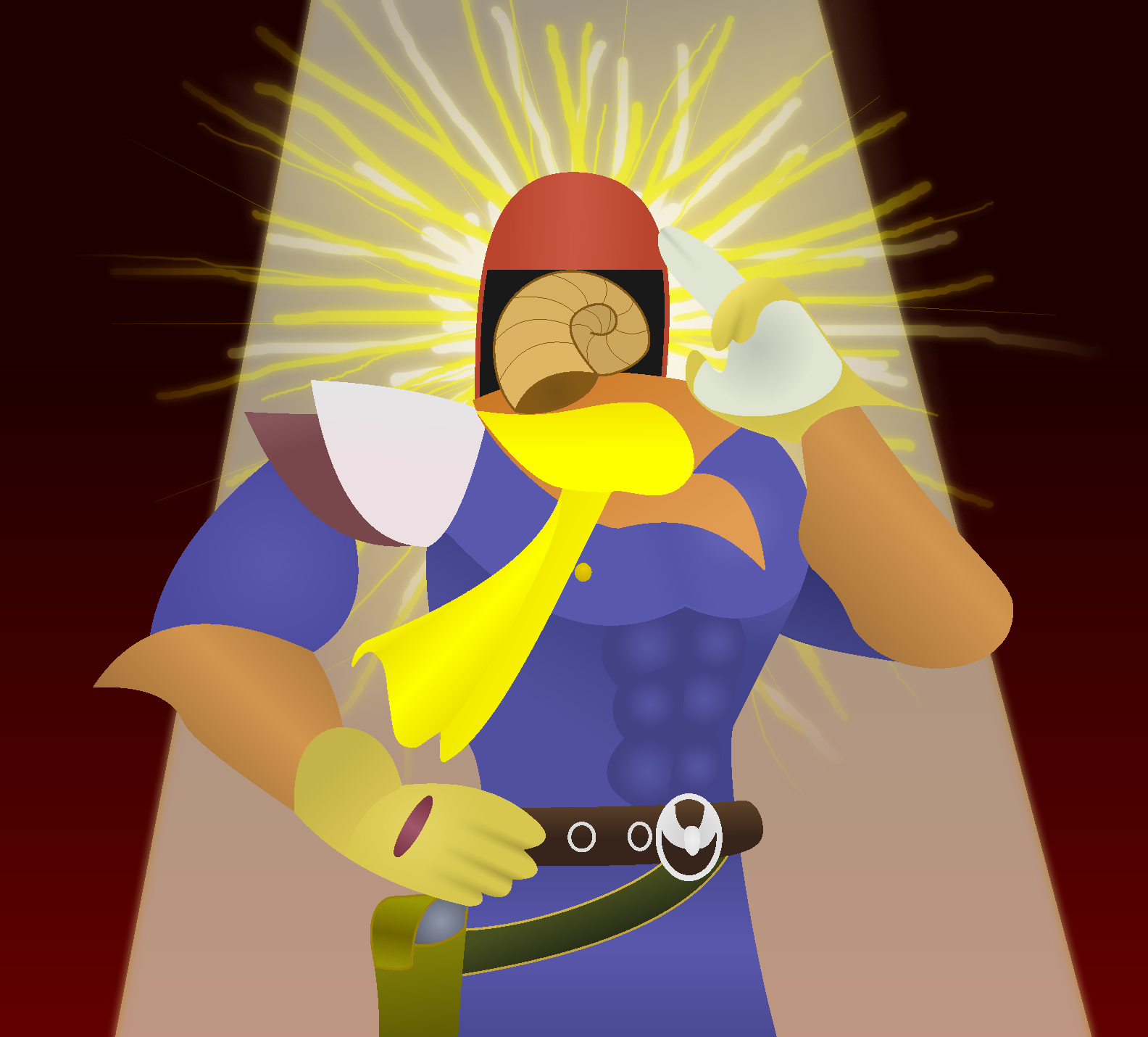 ''Bird Jesus'' by Pfaccioxx