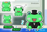 Flele Shell - Froggy
