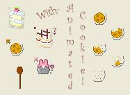 :-Baked Goods Cursor Set-: by love-mist