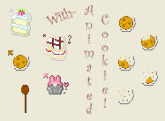 :-Baked Goods Cursor Set-: by love-mist