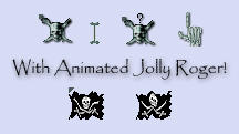 Pirates Cursor Set by love-mist