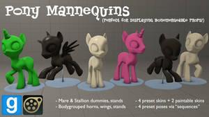 [DL] Pony Dummy/Mannequin