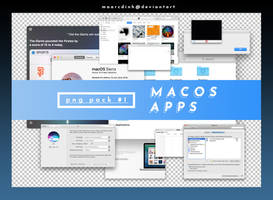 png pack #1.// macOS apps by maarcdinh