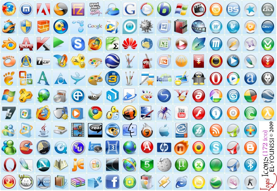 172 logos icons in dll file by save3c on deviantart