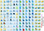 134 Flders Icons in dl File
