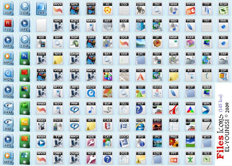 145 files icons in dll file by save3c on deviantart