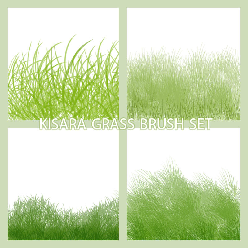 Grass set Brushes by KisaraGirl
