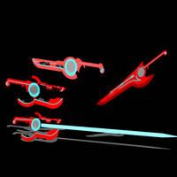 Monado Blades by btabc