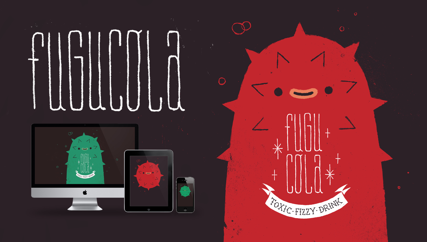 Fugu Cola wallpapers. by NathanDupouy