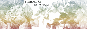 Florals III by mhari