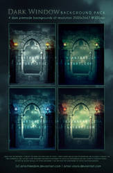 Dark Window Premade Pack by artorifreedom
