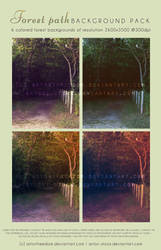 Forest Premade Background Pack