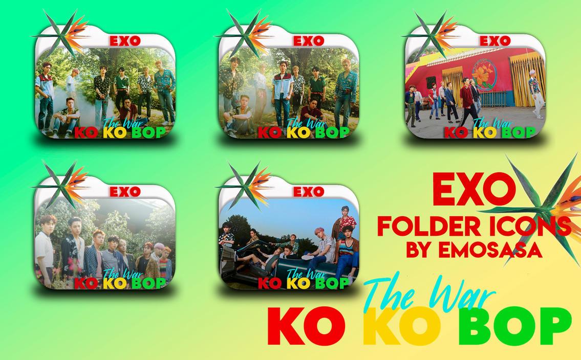 Exo Ko Ko Bop Folder Icons By Emosasa On Deviantart