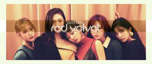 Psd 001 // Red Velvet