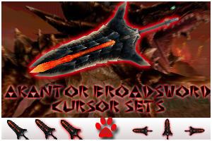MH - Akantor GS Cursor sets by HayzenR