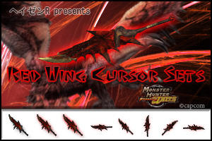 MH - Red Wing Cursor Sets by HayzenR
