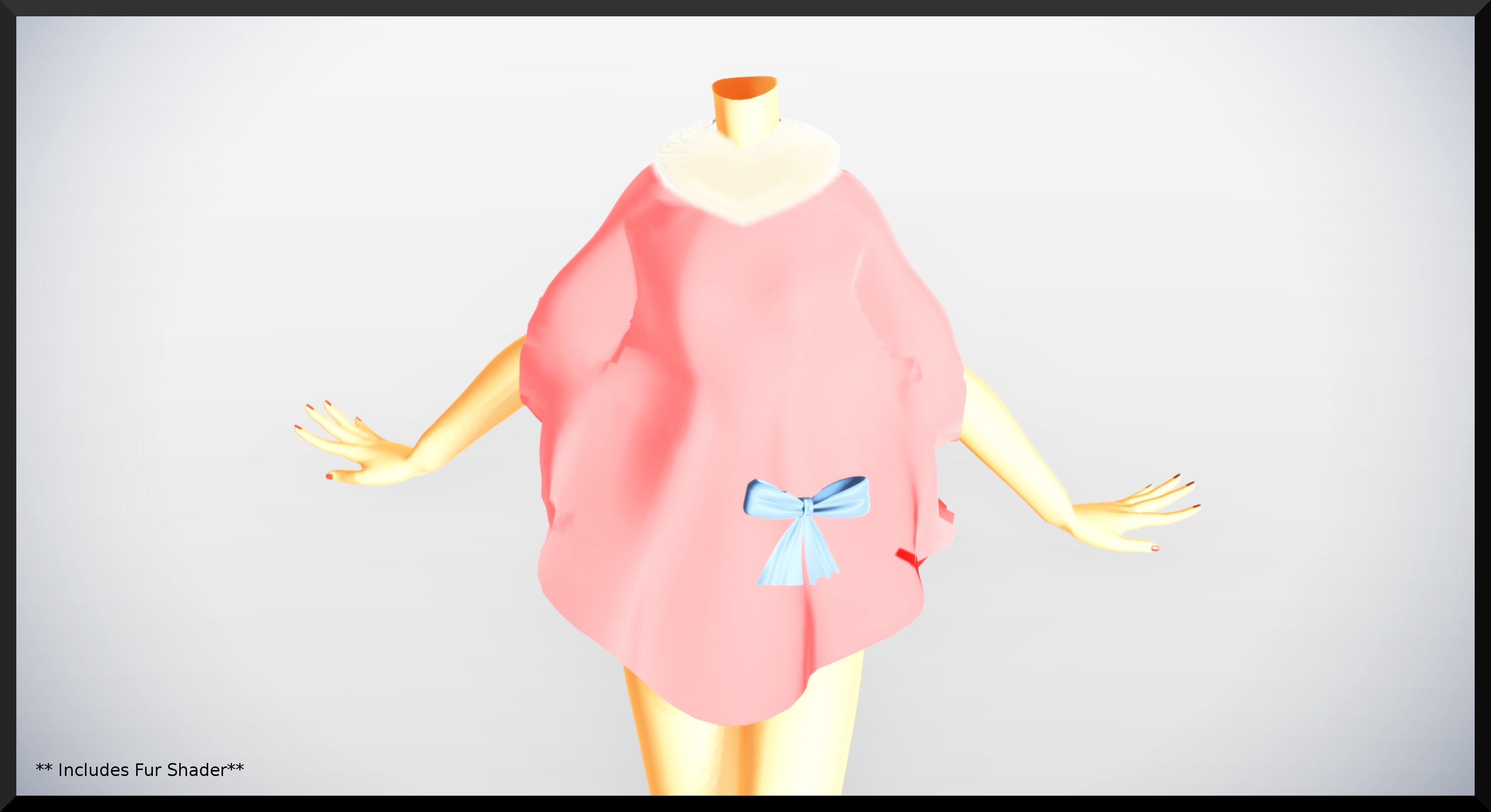 Pink Cape Coat- DL by MichiKairin