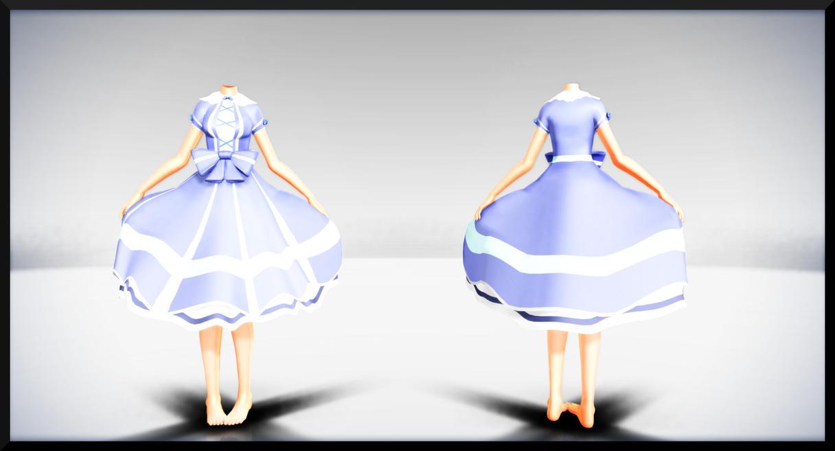 Blue Sweet Lolita Dress- DL by MichiKairin