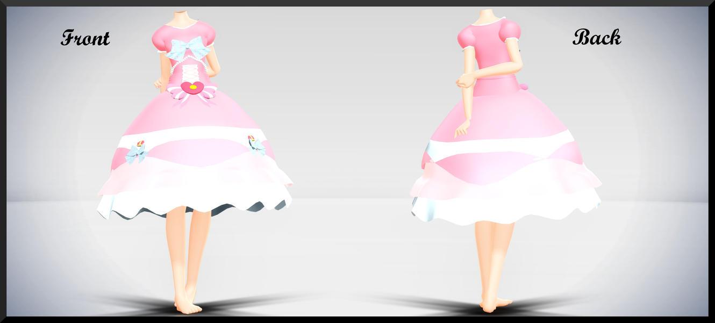 Hime Lolita Dress- DL by MichiKairin