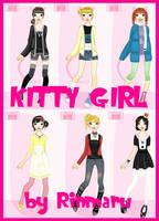 Kitty girl flash dress up doll by Rinmaru