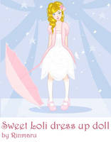 Sweet Loli dress up doll by Rinmaru