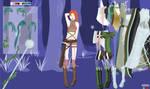 Elven girl dress up doll