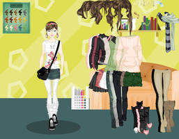 Getting Ready dress up game by Rinmaru