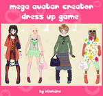 Mega avatar creator dress up
