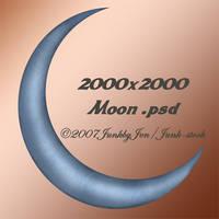 PSD Moon Stock by JunkbyJen