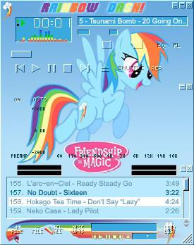 Rainbow Dash amp by shadesmaclean