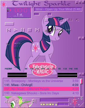 Twilight Sparkle amp by shadesmaclean
