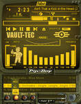 Pip-Boy 3000 amp (Amber) by shadesmaclean