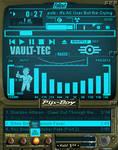 Pip-Boy 3000 amp (Blue) by shadesmaclean