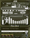 Pip-Boy 3000 amp (White) by shadesmaclean