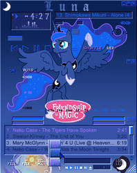 MLP Princess Luna Redux winamp v2