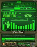 Fallout Pip-Boy 3000 Green winamp v4