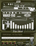 Fallout Pip-Boy 3000 White winamp v4
