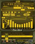 Fallout Pip-Girl 3000 Amber v1 by shadesmaclean
