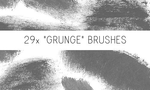 Grunge Brushes by PinkMai