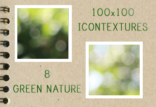 Green Nature Icontextures by PinkMai
