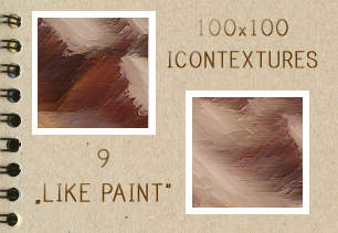 Like Paint Icontextures by PinkMai