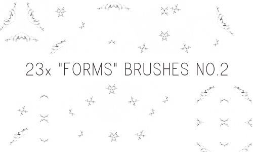 Form Brushes No.2 by PinkMai