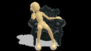 Sitting pose {DL}