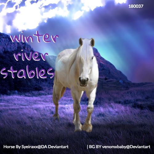 Wwinter river stables