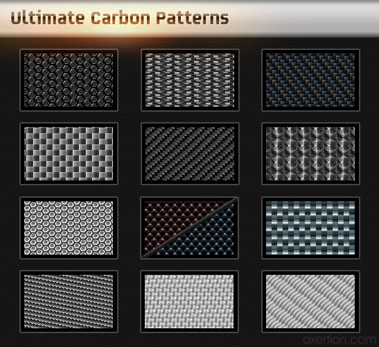 Ultimate Carbon Patterns Pack By Axertion On Deviantart