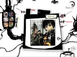 Monsterrrous website by Tung-Monster